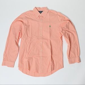 Ralph Lauren Custom Fit Button Down - M
